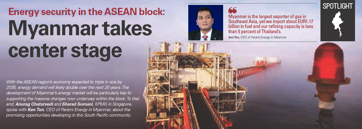 Energy security in the ASEAN block: Myanmar takes center stage